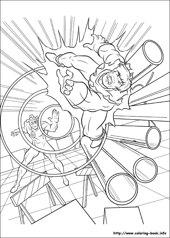 X Men coloring pages on Coloring Bookinfo