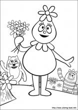 19 yo gabba gabba pictures to print and color last updated september 2nd - Yo Gabba Gabba Coloring Pages