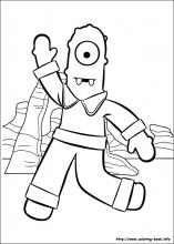 Yo Gabba Gabba coloring pages on Coloring Bookinfo