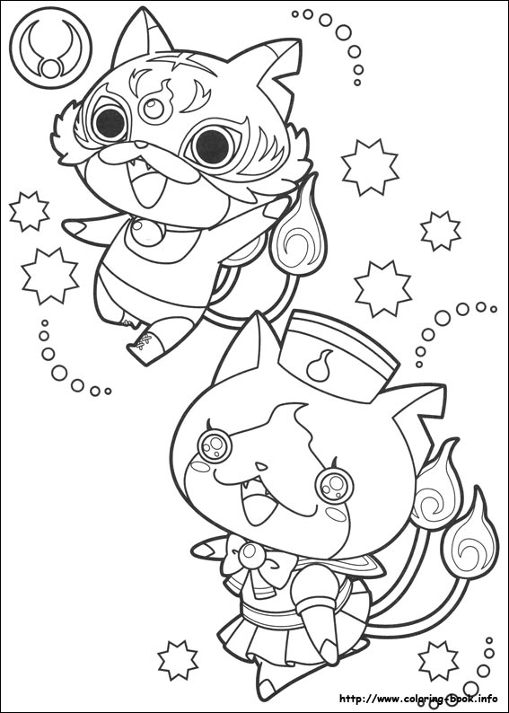 Yo-kai Watch coloring pages on Coloring-Book.info