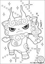 yo kai watch coloring pages Yo kai Watch coloring pages on Coloring Book.info yo kai watch coloring pages