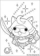 Yo Kai Watch Coloring Pages On Coloring Bookinfo - Kai-coloring-pages