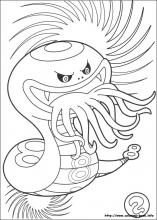 Yo Kai Watch Coloring Pages On Book