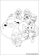 Yo Kai Watch Coloring Pages On Coloring Book Info