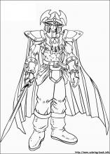 Yu-Gi-Oh coloring pages on Coloring-Book.info