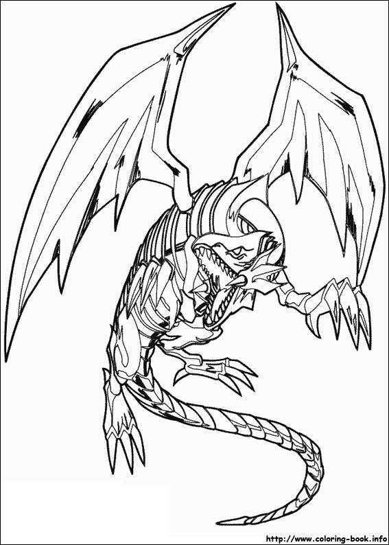 - Yu-Gi-Oh Coloring Pages On Coloring-Book.info