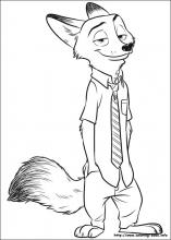 Zootopia Coloring Pages On Book