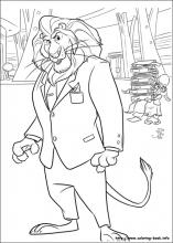 Zootopia Coloring Pages On Coloring Book Info