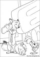 Zootopia Coloring Pages 30 Pictures To Print And Color Last Updated August 17th