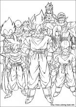 Dragon Ball Z coloring pages on Coloring-Book.info