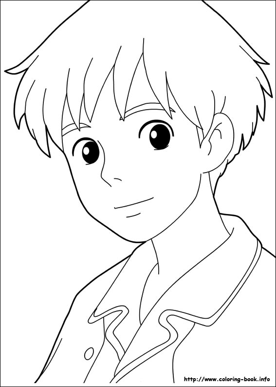 Arrietty coloring pages for kids