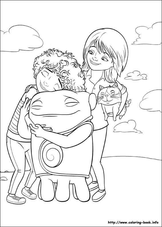 Раскраска мультфильм - 5