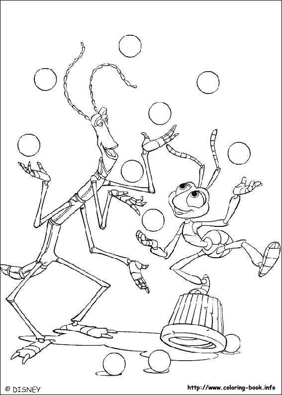 A Bug S Life Coloring Picture