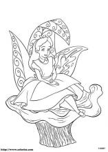 Alice In Wonderland Coloring Pages On Coloring Book Info