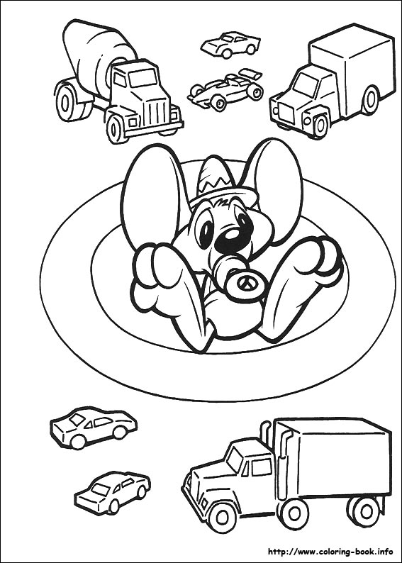 Baby Looney Tunes Coloring Picture