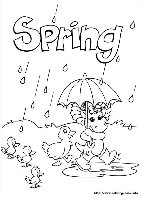 Barney And Friends Coloring Book | Coloring Pages