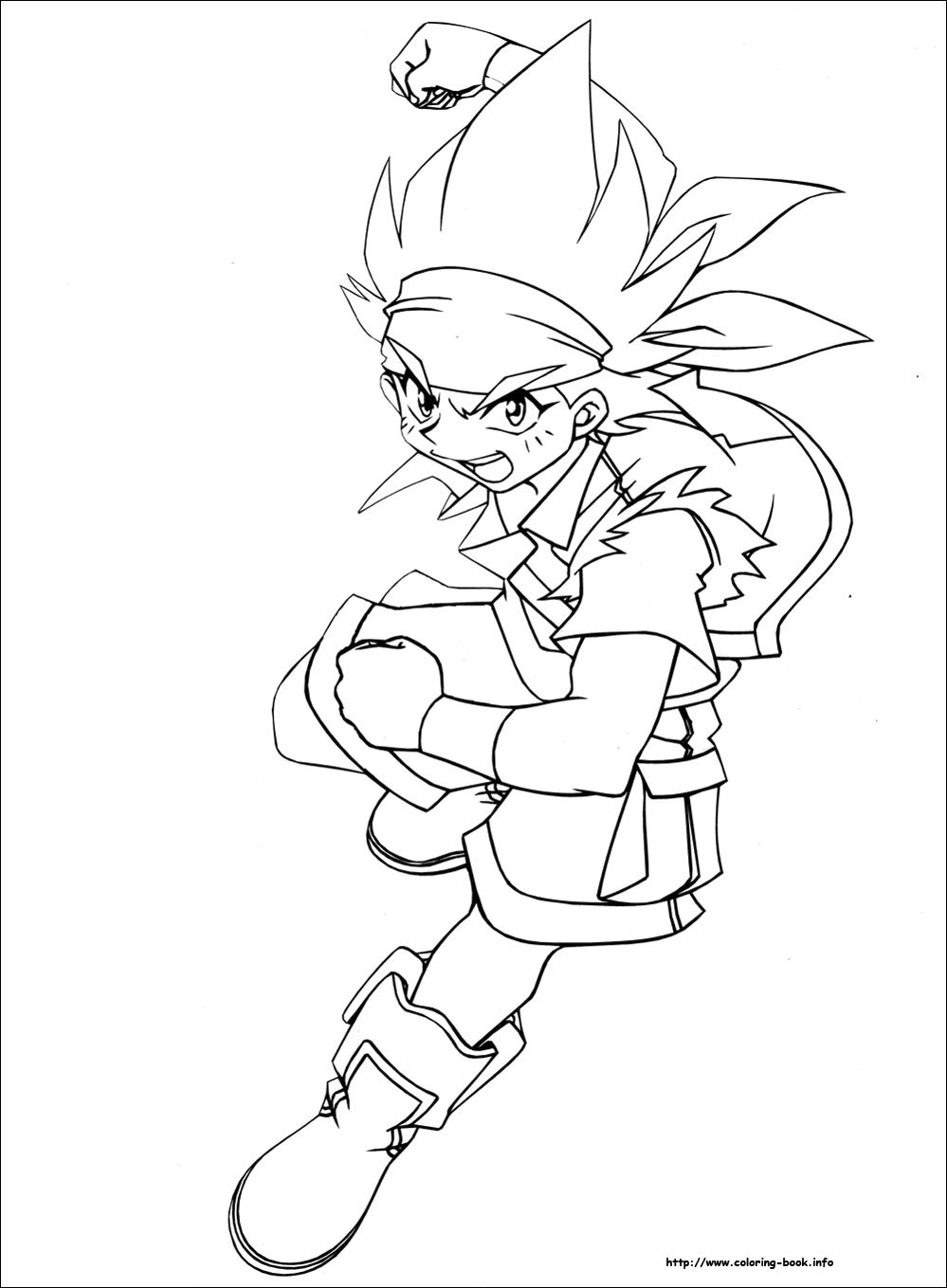 - Beyblade Coloring Picture