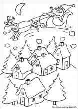 christmas coloring pages on book info