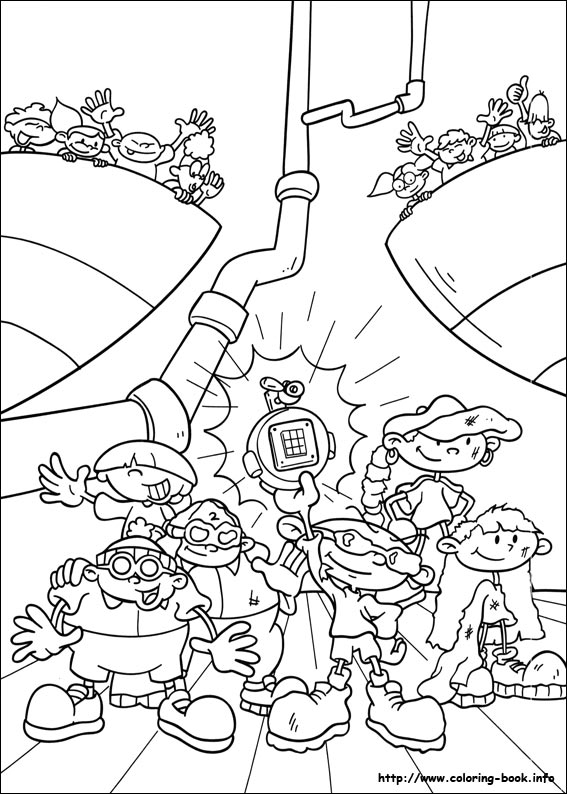codename kids next door coloring picture codename kids next door coloring picture