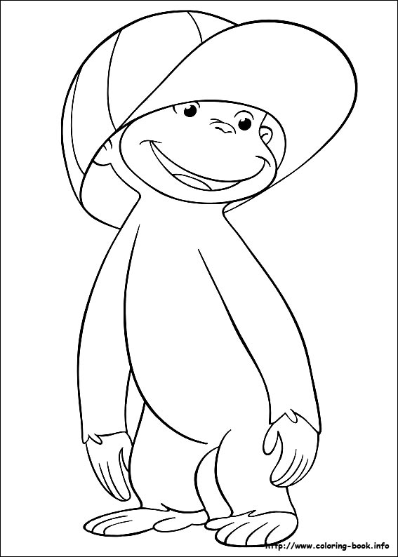15 Best 'Curious George' Coloring Pages For Your Little Ones | 794x567