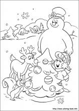 Frosty The Snowman Coloring Pages On Coloring Book Info