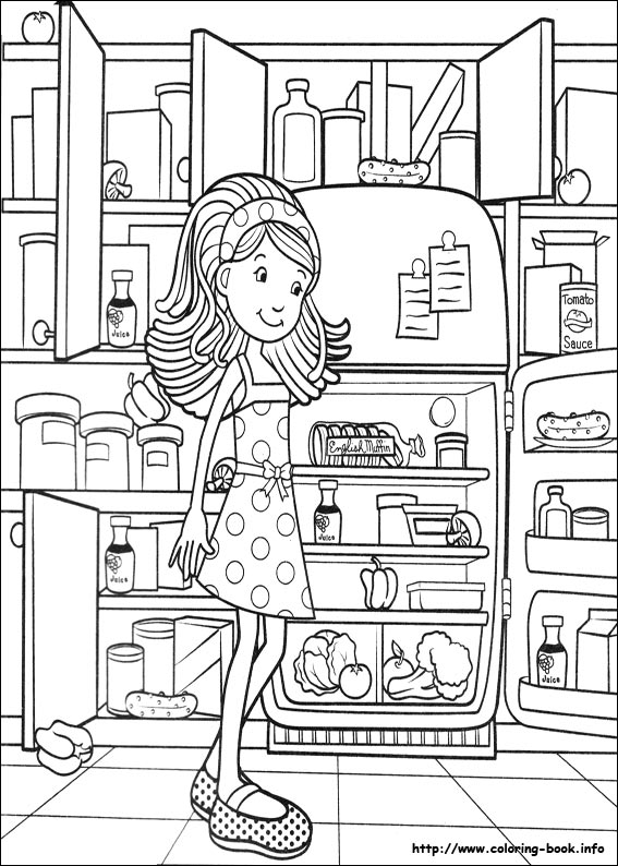 Groovy Girls coloring pages - Clip Art Library | 794x567