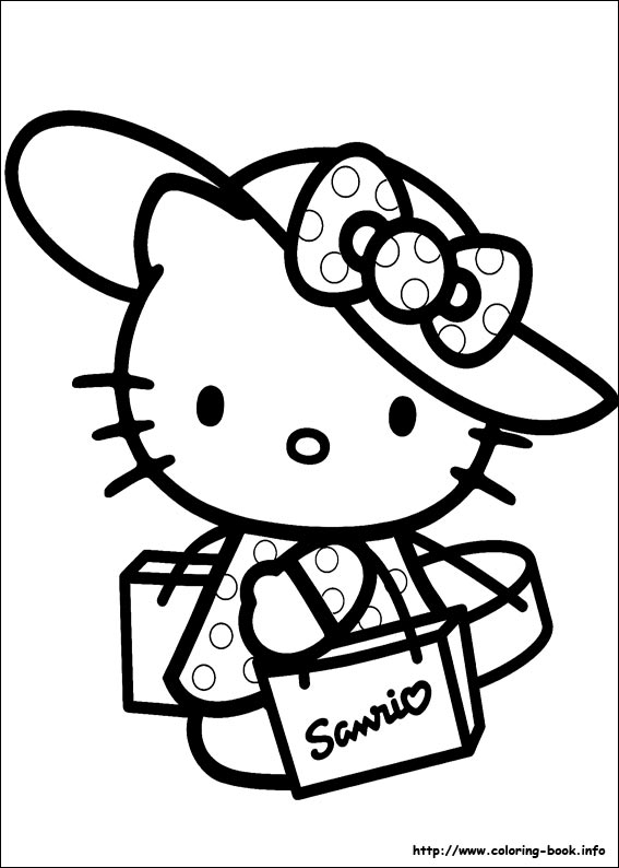 Hello Kitty Character Coloring Pages | printable coloring for kids ... | 794x567