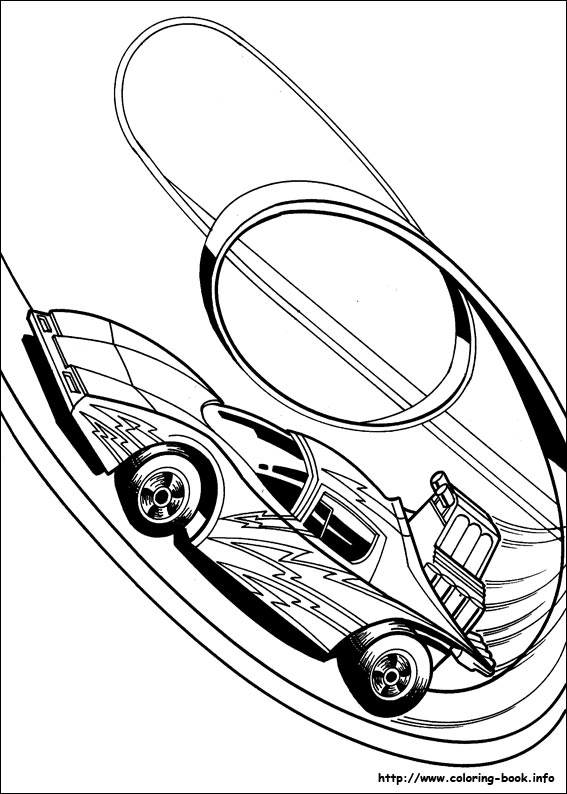 Hot Wheels Coloring Picture