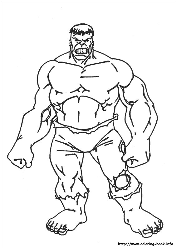 This is a picture of Hulk Printable Coloring Pages for hulk smash