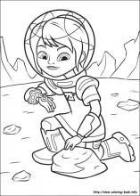 Miles From Tomorrowland Coloring Pages On Coloring Book Info
