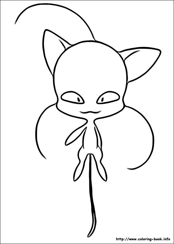 - Miraculous Ladybug Coloring Picture
