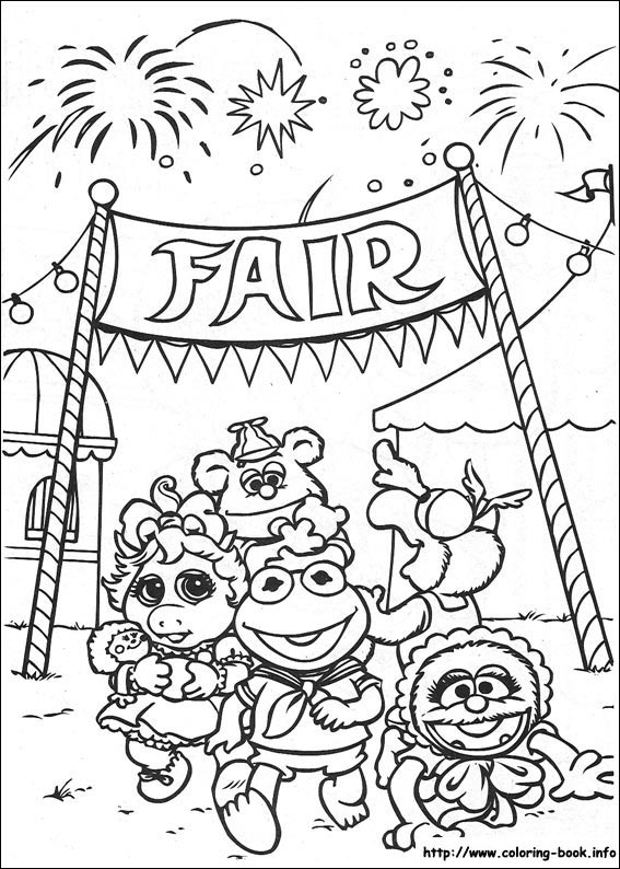 Muppet Babies Coloring Book | Coloring Pages