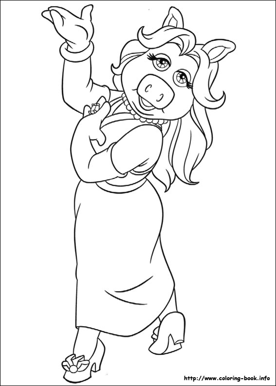 Muppet Babies Coloring Page for Your Kids | Disney Family | 794x567