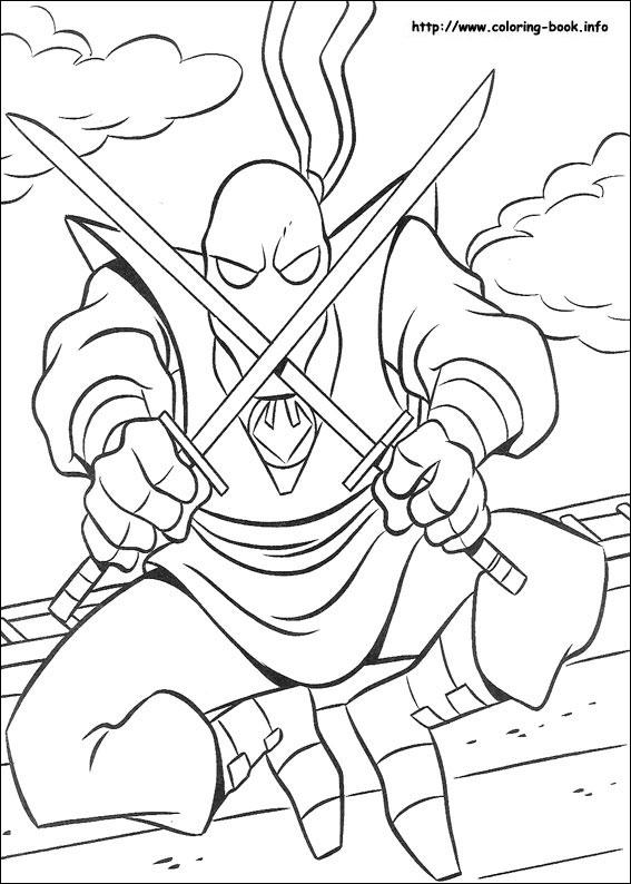 Michelangelo Ninja Turtle coloring page | Free Printable Coloring ... | 794x567