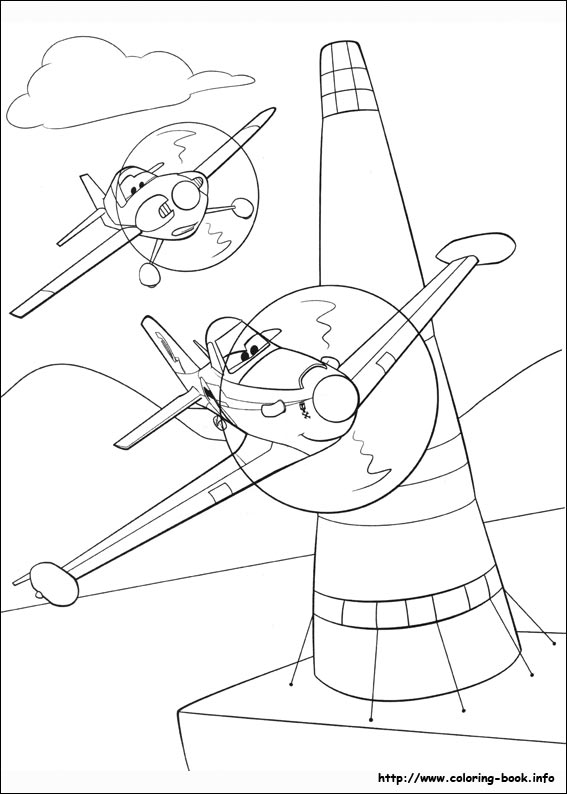 Planes 2 Coloring Book | Coloring Pages