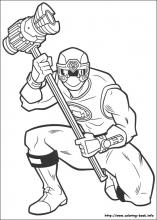 Power Rangers Ninja Storm Coloring Pages | Coloring Pages