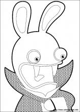 raving rabbids coloring pages on book info