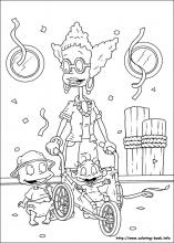 Rugrats Coloring Pages On Coloring Book Info