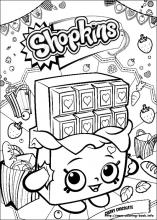 Shopkins Coloring Pages On Coloring Book Info