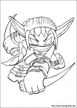 Skylanders Coloring Pages On Coloring Book Info
