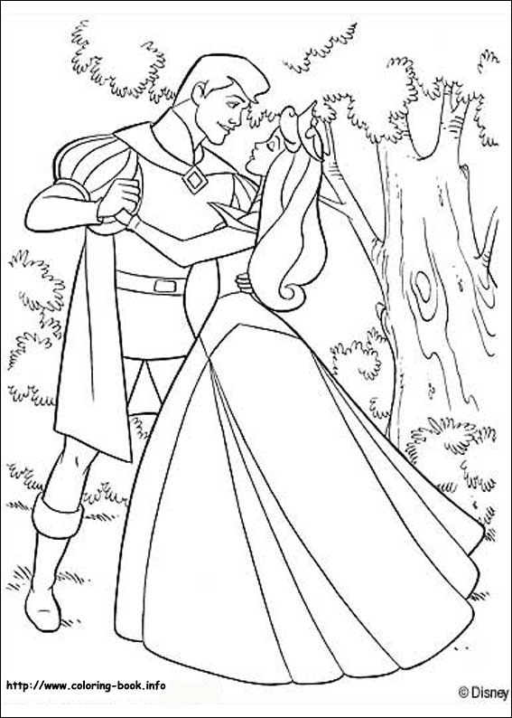 Sleeping Beauty Coloring Pages - Coloring Home | 794x567