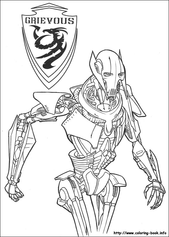 - Star Wars Coloring Picture