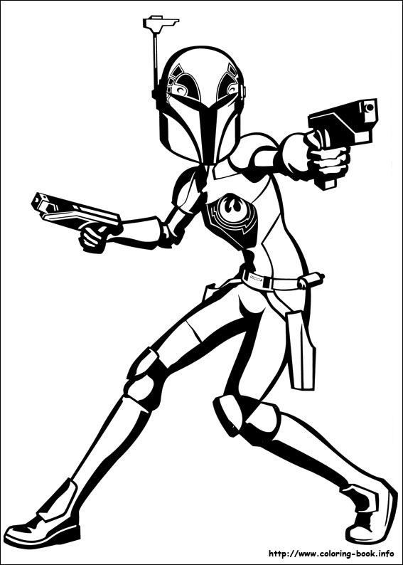 Star Wars Rebels Coloring Book | Coloring Pages