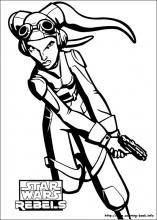 Star Wars Rebels Coloring Pages On Coloring Book Info