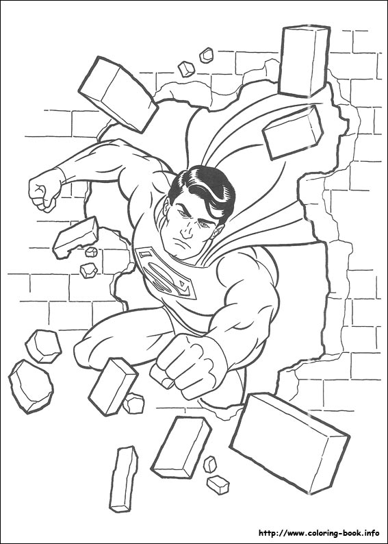 graphic regarding Superman Coloring Pages Printable known as Superman coloring think about
