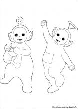 Teletubbies Coloring Pages On Coloring Book Info