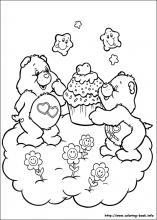 The Care Bears Coloring Pages On Coloring Book Info