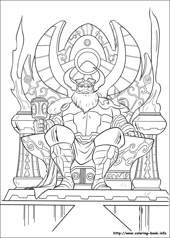 Get This Printable Thor Coloring Pages Online 64038 ! | 794x567
