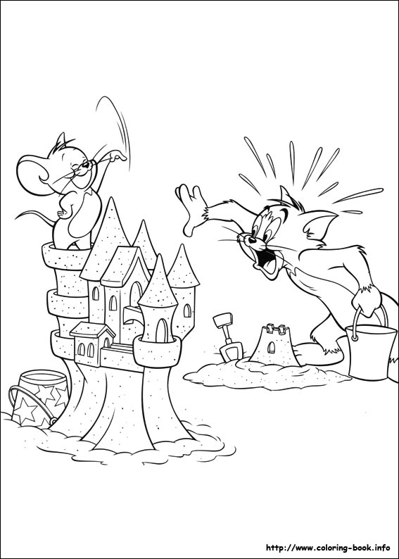 90+ Tom And Jerry Coloring Book Games Free