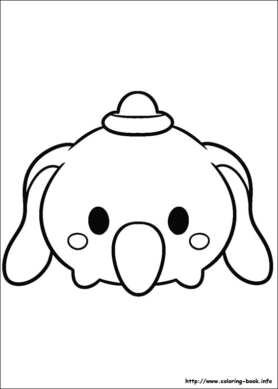 - Tsum Tsum Coloring Picture